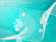 Light Blue Abstract Picture PowerPoint Templates