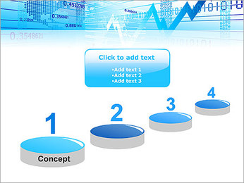 Finance Abstract Diagram PowerPoint Template - Slide 7