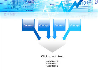 Finance Abstract Diagram PowerPoint Template - Slide 8