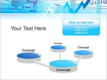 Finance Abstract Diagram PowerPoint Template - Slide 9