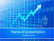 Abstract Arrow Graph PowerPoint Templates