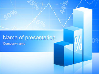 Percent Diagram PowerPoint Template