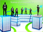 Colegas del asunto Plantillas de Presentaciones PowerPoint