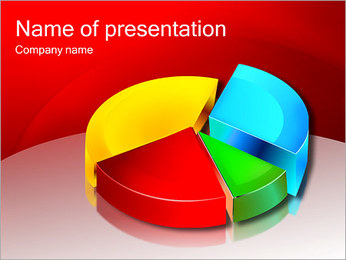 Four-Colored Diagram PowerPoint Template