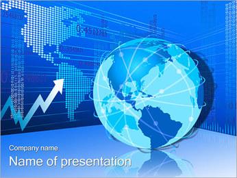 Tierra Flecha Diagrama Plantillas de Presentaciones PowerPoint