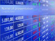 Financial Report Table PowerPoint Templates