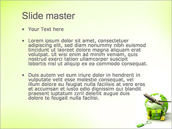 Travelling By Plane PowerPoint Templates - Slide 2