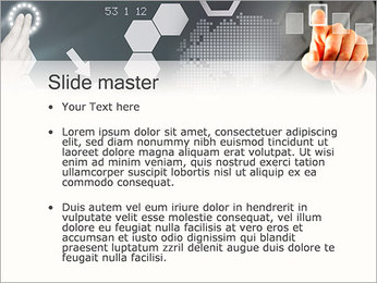 Panel Screen Touch PowerPoint Template - Slide 2