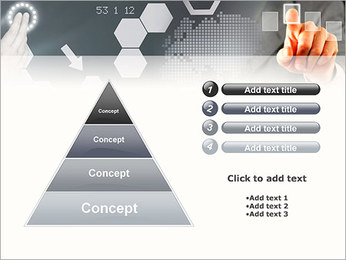 Panel Screen Touch PowerPoint Template - Slide 22