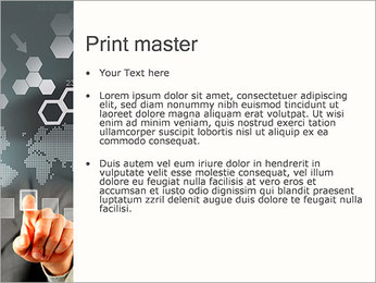 Panel Screen Touch PowerPoint Templates - Slide 24