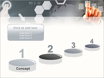 Panel Screen Touch PowerPoint Template - Slide 7
