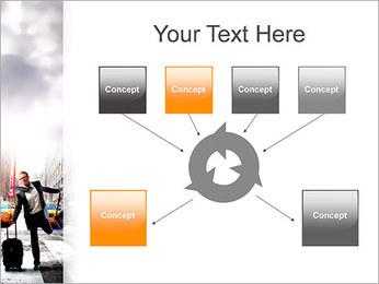 Attraper Taxi Modèles des présentations  PowerPoint - Diapositives 10