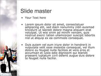 Attraper Taxi Modèles des présentations  PowerPoint - Diapositives 2