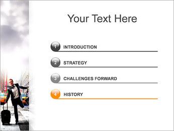 Attraper Taxi Modèles des présentations  PowerPoint - Diapositives 3