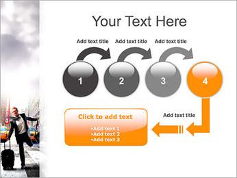 Attraper Taxi Modèles des présentations  PowerPoint - Diapositives 4