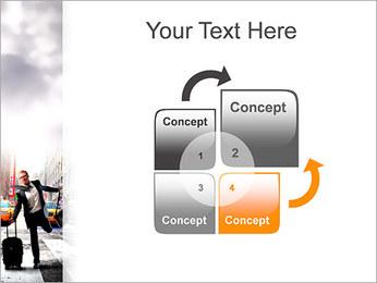Attraper Taxi Modèles des présentations  PowerPoint - Diapositives 5