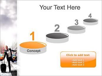 Attraper Taxi Modèles des présentations  PowerPoint - Diapositives 7