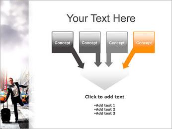 Attraper Taxi Modèles des présentations  PowerPoint - Diapositives 8