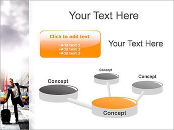 Attraper Taxi Modèles des présentations  PowerPoint - Diapositives 9