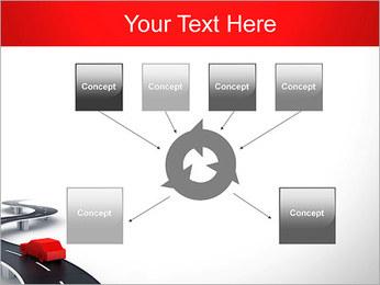 Long Road avec la voiture Modèles des présentations  PowerPoint - Diapositives 10