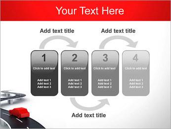 Long Road avec la voiture Modèles des présentations  PowerPoint - Diapositives 11