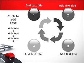 Long Road avec la voiture Modèles des présentations  PowerPoint - Diapositives 14