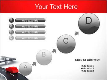 Long Road avec la voiture Modèles des présentations  PowerPoint - Diapositives 15