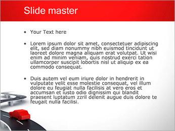 Long Road avec la voiture Modèles des présentations  PowerPoint - Diapositives 2