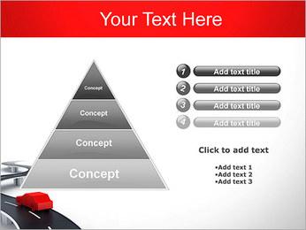 Long Road avec la voiture Modèles des présentations  PowerPoint - Diapositives 22