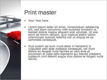 Long Road avec la voiture Modèles des présentations  PowerPoint - Diapositives 24