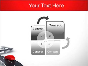 Long Road avec la voiture Modèles des présentations  PowerPoint - Diapositives 5