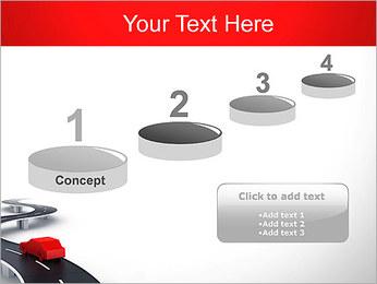Long Road avec la voiture Modèles des présentations  PowerPoint - Diapositives 7