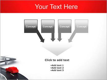 Long Road avec la voiture Modèles des présentations  PowerPoint - Diapositives 8