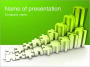 Green Puzzle Diagram PowerPoint Templates