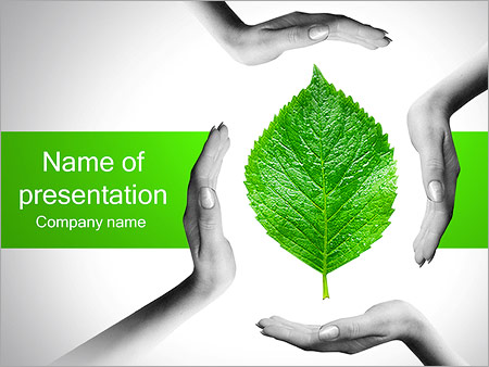 Free powerpoint templates backgrounds google slides themes hands with green leaf powerpoint template toneelgroepblik Choice Image