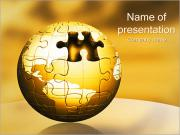 World Puzzle PowerPoint Templates