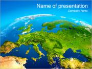 Earth Map PowerPoint-Vorlagen