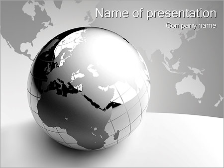 abstract grey earth powerpoint template backgrounds google slides