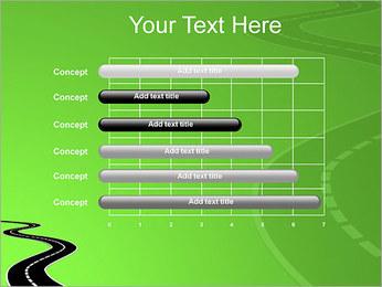 Route sur fond vert Modèles des présentations  PowerPoint - Diapositives 17