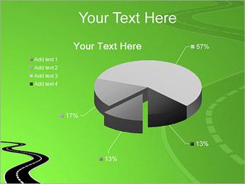 Route sur fond vert Modèles des présentations  PowerPoint - Diapositives 19