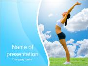 Healthy Way Of Life PowerPoint Templates