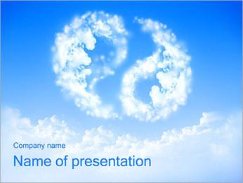 Sky Harmony Sigh PowerPoint Template