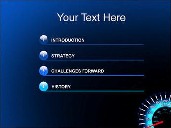 Compteur de vitesse automatique Modèles des présentations  PowerPoint - Diapositives 3