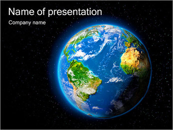 Space And Our Planet PowerPoint Template