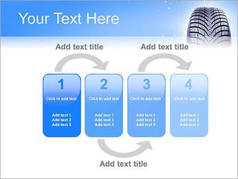 Hiver de pneu de voiture Modèles des présentations  PowerPoint - Diapositives 11