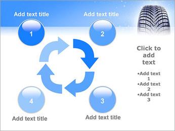 Hiver de pneu de voiture Modèles des présentations  PowerPoint - Diapositives 14