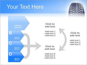 Hiver de pneu de voiture Modèles des présentations  PowerPoint - Diapositives 16
