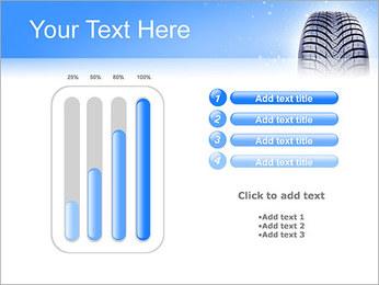 Hiver de pneu de voiture Modèles des présentations  PowerPoint - Diapositives 18