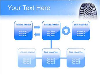 Hiver de pneu de voiture Modèles des présentations  PowerPoint - Diapositives 23