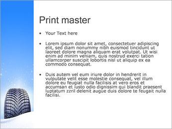 Hiver de pneu de voiture Modèles des présentations  PowerPoint - Diapositives 24